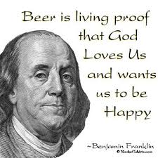 Ben Franklin beer