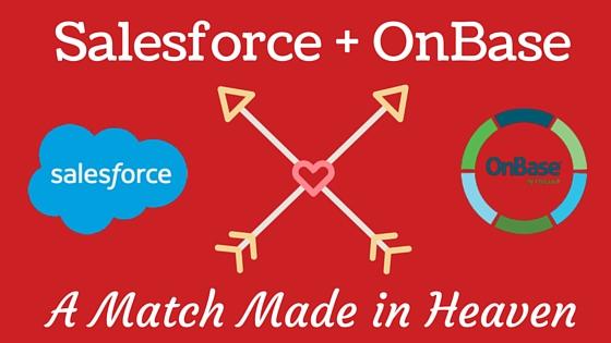 Integrating Salesforce + OnBase
