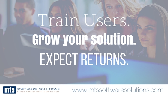 Train Users. Grow your Solution. Expect Returns.
